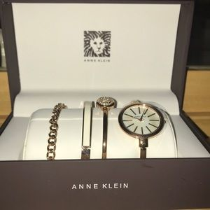 Set of Anne Klein Bracelets